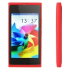 "N9 GSM Cell Phone w/ 3.6"" Resistive TFT Screen, Quadband, Dual SIM and FM - Red"