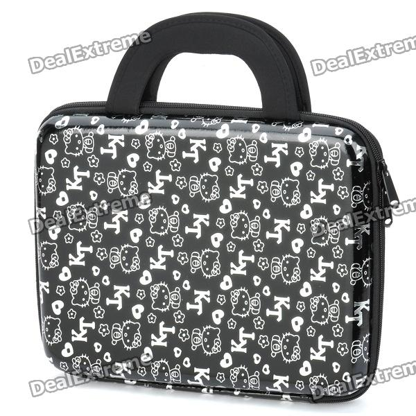 """Hello Kitty Style Protective Carrying Bag for 10"""" Tablet - Black"""