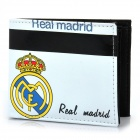 Football/Soccer Team Double-Fold PU Leather Wallet - Real Madrid