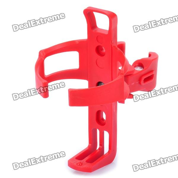 Bicycle Bike Quick Release Water Bottle Mount Holder - Red (Max. Cup Diameter 5cm)