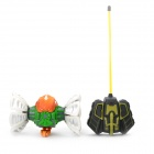 49MHz R/C Plasmodium Model Toy w/ Light & Music Effects - White + Green + Orange