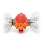 49MHz R/C Plasmodium Model Toy w/ Light & Music Effects - White + Orange + Red