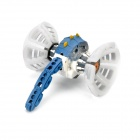 49MHz R/C Plasmodium Model Toy w/ Light & Music Effects - White + Blue + Grey