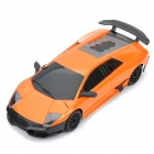 1:24 4-CH 27MHz R/C Lamborghini Model Toy - Orange + Black