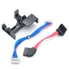 XBOX360 Slim CD-ROM Cable - Black + Blue + Red