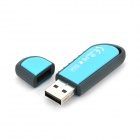 Genuine Transcend JetFlash V70 USB 2.0 Flash Drive - Blue + Grey (32GB)