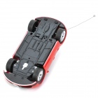 1:22 4-CH 27MHz R/C Bugatti Model Toy - Red