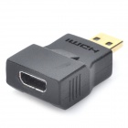 HDMI Female to HDMI Male Adapter - Black