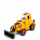 40MHz R/C Bulldozer Model Toy - Yellow + Black