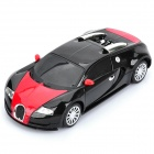 1:24 4-CH 27MHz R/C Bugatti Model Toy - Black