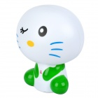 Cute Cartoon Style USB Rechargeable 9-LED White Light Energy Saving Desk Lamp - Random Color