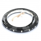 3W 1210 Soft LED Blue Light Strip - Black (DC 12V / 90CM)