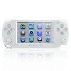 "JXD A1000 4,3 ""LCD Multi-Media Player Spielkonsole w / 1.0MP Camera / AV-Out / TF - White (4GB)"