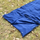 Camping Warm Rectangle Sleeping Bag - Blue