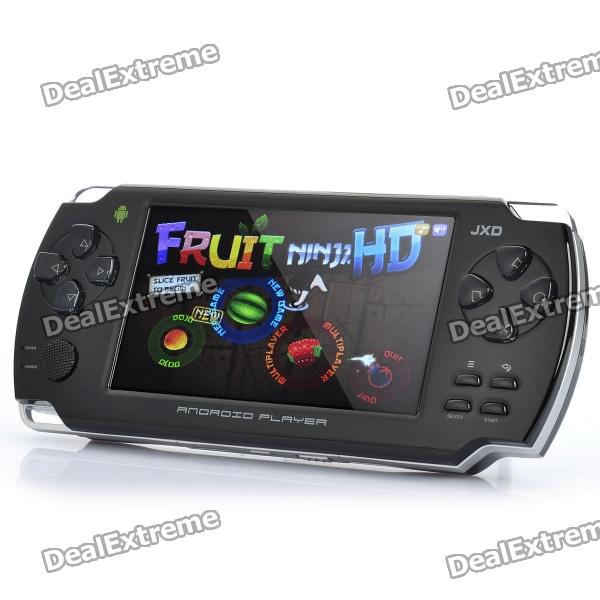 "JXD S601 4.3"" LCD Android 2.3 Game Console w/ WiFi / TF - Black (Cortex A9 1GHz / 4GB)"