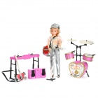Lelia Dream Singer Musical Instruments with Light & Music Effects Toys Set (AG13)