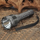 FandyFire C108 XM-L T6 868LM 5-Mode Memory White LED Flashlight - Silver Grey (1 x 18650)