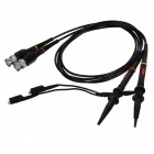 P2100 100MHz Oscilloscope Scope Clip Probe Cables (BNC-Connector / 90cm / Pair)