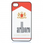 Protective PC Case for iPhone 4 / 4S - Cigarette Packet Style