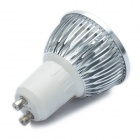 GU10 4W 300-Lumen 6500K Cold White Light 4-LED Cup Bulb (AC 100~245V)