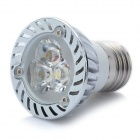 E27 3W 3500K 200-Lumen 3-LED Warm White Light Bulb (AC 100~245V)