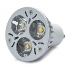 GU10 3W 3500K 200-Lumen 3-LED Warm White Light Bulb (AC 100~240V)