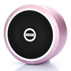 Portable USB Rechargeable Bluetooth V2.1+EDR Stereo Speaker - Pink