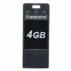 Echte Transcend JetFlash T3 USB 2.0 Flash Drive - Black (4GB)