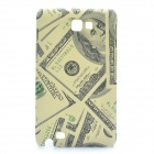 Unique U.S. Dollar Pattern Protective PC Back Case for Samsung i9220 / Galaxy N7000