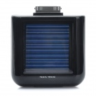 1900mAh Solar Powered Rechargeable External Battery for iPhone 4 / 4S (Black)