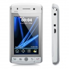 "FO35 GSM TV Cell Phone w/3.2"" resistive, Dual SIM, Quadband, Java, Wi-Fi and GPS - White (2GB TF)"