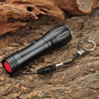 Small Sun ZY-S11 3W LED 1-Mode 120LM White LED Convex Lens Zoom Flashlight w/ Strap (1 x AA/14500)