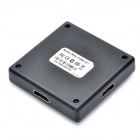 HDMI 1080p V1.3 3 Entrada-1-Output Hub Switch - Preto