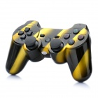 Rechargeable DualShock Bluetooth SIXAXIS Wireless Controller for PS3 - Yellow + Black