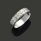 Elegant 990 Sterling Silver Ring (20mm-Diameter)