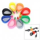 Stylish Practical Nylon Cable Ties - Multicolor (8-Pack)