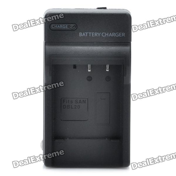 AC Battery Charger Cradle for Sanyo DBL20 Digital Camera Battery (100~240V)