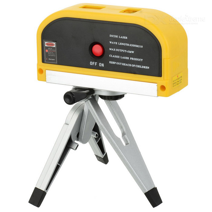 Multi-Function Laser Leveler w/ Tripod (3 x AG13) free shipping highly visible line laser kapro 810 with vertical and horizontal vials