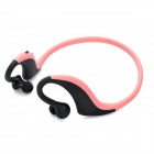 Sports Bluetooth V2.1 + EDR Stereo Handsfree Headset - Pink + Black (7 Hours-Talking)