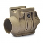 Quick-Released Gun Flashlight / Laser Mount Holder (20mm Caliber)