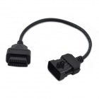 10 Pin to 16 Pin OBD2 Diagnostic Cable for Opel (30CM)