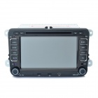 "7"" Touch Screen Car DVD Player + WinCE 6.0 GPS Navigator w/ FM/Bluetooth/TF for Volkswagen Magotan"