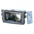 "8 ""Touch-Screen-Auto-DVD-Player + WinCE 6.0 GPS Navigator w / FM / Bluetooth / TF für Toyota Corolla"