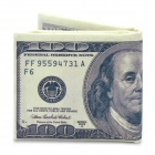 Einzigartige kreative 100 US-Dollar Bill-Art-Mappen