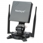 Netsys 990WG USB 2.0 5800mW 802.11b/g 54Mbps Wi-Fi Wireless Network Adapter w/ 3 Antennas - Black