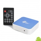 Mini 1080P Android 2.2 Netzwerk-Media Player w / Dual USB / SD / RJ45 / HDMI / AV / WiFi - Blue (2GB)