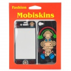 Paul Frank Pattern Protective Epoxy Skin Stickers for iPhone 4