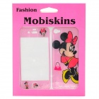 Minnie Mouse Pattern Protective Epoxy Skin Stickers for iPhone 4