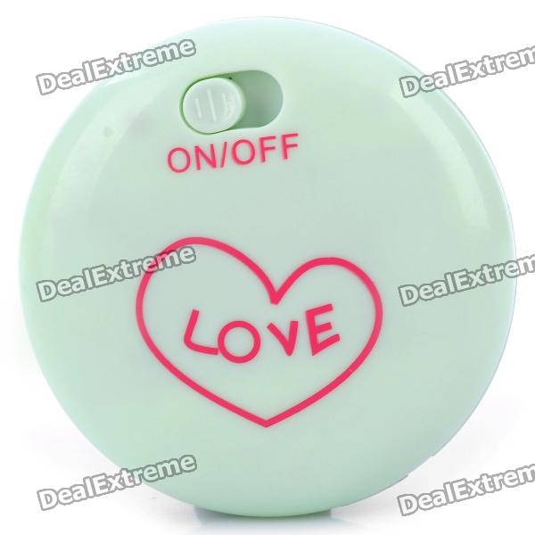 Portable Hand Warmer - Light Green (2 x AA)