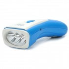 TGX-3637 Rechargeable 1-Mode 3-LED White Light Flashlight - White + Blue